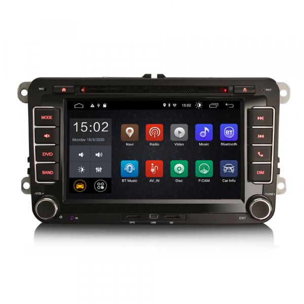 Navigatie auto dedicata VW SKODA SEAT, Android 10.0, Quad Core 0