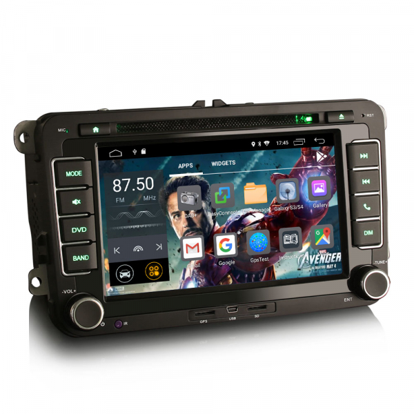 Navigatie auto dedicata VW SKODA SEAT, Android 10.0, Quad Core 8