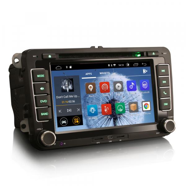 Navigatie auto dedicata VW SKODA SEAT, Android 10.0, Quad Core 4