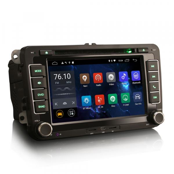 Navigatie auto dedicata VW SKODA SEAT, Android 10.0, Quad Core 6