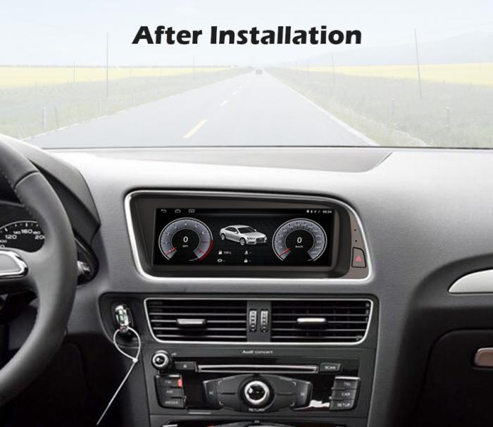Navigatie auto, Pachet dedicat Audi Q5 ,8.8 inch, Android 10 10