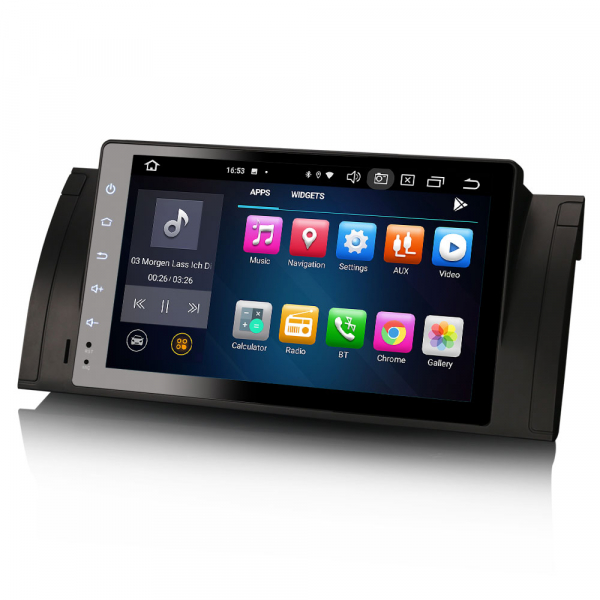 Navigatie auto, Pachet dedicat BMW  Seria 5 E39 E53 X5 M5, 9 inch, Android 10.0, Octa Core [1]