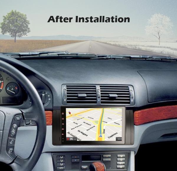 Navigatie auto, Pachet dedicat BMW  Seria 5 E39 E53 X5 M5, 9 inch, Android 10.0, Octa Core [8]