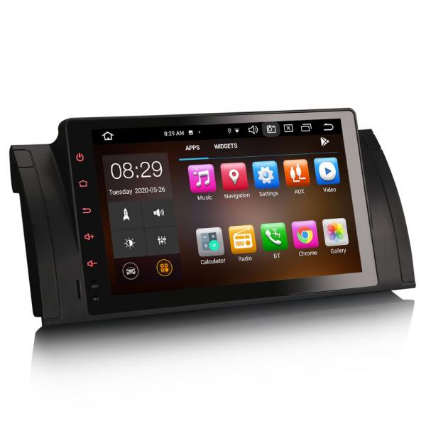 Navigatie auto, Pachet dedicat BMW  Seria 5 E39 E53 X5 M5, 9 inch, Android 10.0, Octa Core [3]