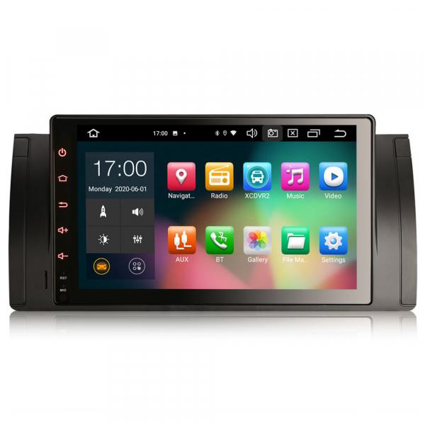 Navigatie auto, Pachet dedicat BMW  Seria 5 E39 E53 X5 M5, 9 inch, Android 10.0, Octa Core [0]