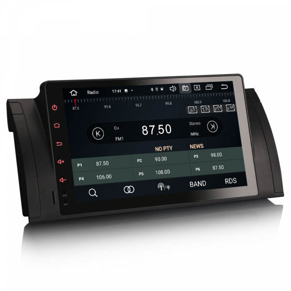 Navigatie auto, Pachet dedicat BMW  Seria 5 E39 E53 X5 M5, 9 inch, Android 10.0, Octa Core [6]