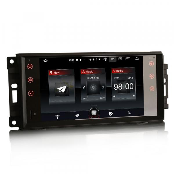 Navigatie auto, Pachet dedicat Jeep Compass Chrysler Dodge, Android 10.0, 7 Inch [4]