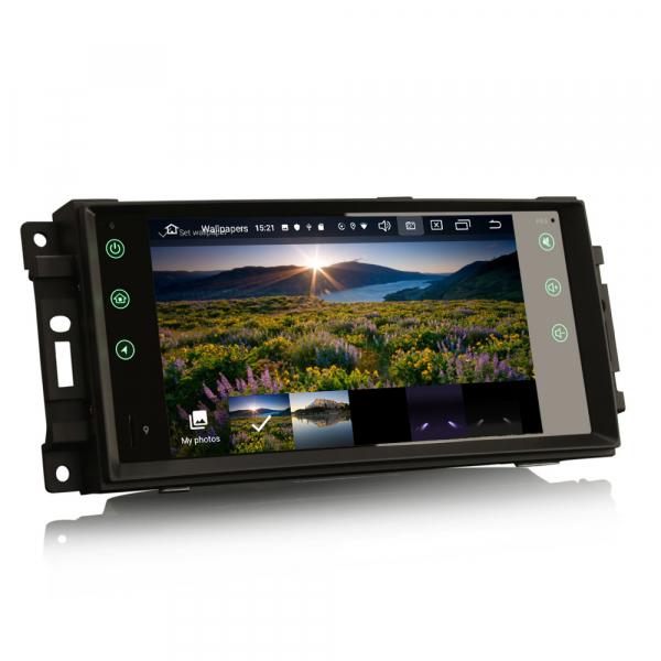 Navigatie auto, Pachet dedicat Jeep Compass Chrysler Dodge, Android 10.0, 7 Inch [2]