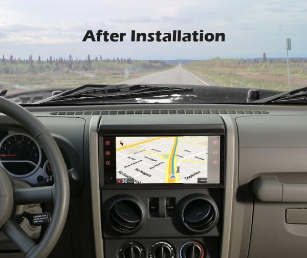 Navigatie auto, Pachet dedicat Jeep Compass Chrysler Dodge, Android 10.0, 7 Inch [10]