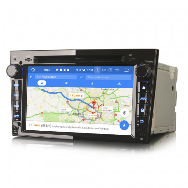 Navigatie auto, Pachet dedicat Opel Vauxhall Vivaro Astra Corsa Zafira ,8 Core, 7 inch, Android 10.0 [7]
