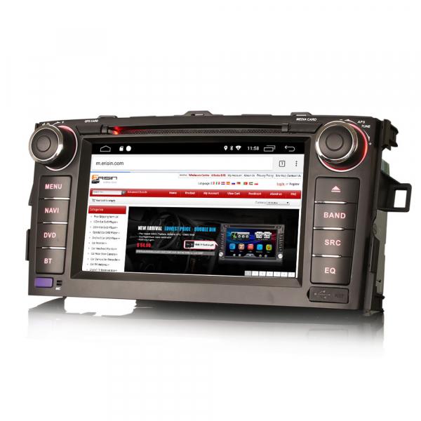 Navigatie auto, Pachet dedicat TOYOTA AURIS COROLLA ALTI,7 inch, Android 10, GPS, WIFI, DAB+,DVD,  2GB RAM, 16GB memorie interna [1]