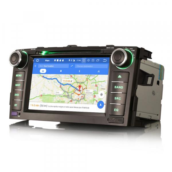 Navigatie auto, Pachet dedicat TOYOTA AURIS COROLLA ALTI,7 inch, Android 10, GPS, WIFI, DAB+,DVD,  2GB RAM, 16GB memorie interna [4]