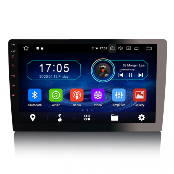 Navigatie auto universala/Multimedia player cu articulatie rotativa reglabila,10.1 inch, Android 10, Quad Core, 2Gb Ram 0