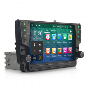 Navigatie auto 2 din, Pachet dedicat VW GOLF VII/7, Android 9.0 , WIFI+GPS, 9 inch, DAB+,Quad core CPU, 2GB Ram,16GB memorie interna2