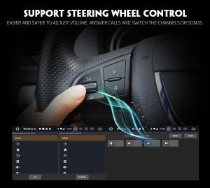 Navigatie auto 2 din, Pachet dedicat VW GOLF VII/7, Android 9.0 , WIFI+GPS, 9 inch, DAB+,Quad core CPU, 2GB Ram,16GB memorie interna4
