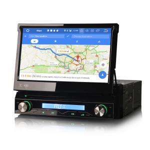 Navigatie auto / Multimedia player auto 1DIN, ecran retractabil, Android 10.0, Quad-Core ,2Gb Ram. [2]
