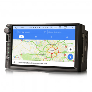 Navigatie auto universala 2DIN,(Nissan) 7 inch, Android 10.0, GPS, WIFI, DAB+, 2GB RAM, 16GB memorie interna2