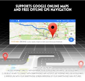 Navigatie auto, Pachet dedicat BMW, Android 10, GPS, WIFI,DAB+, 2GB RAM, 16GB memorie interna [4]