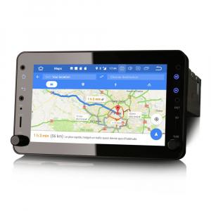 Navigatie auto 2 din, Pachet dedicat ALFA ROMEO Brera Spider 159 Sportwagon, Android 10.0, 7 inch,, DAB+,Quad core, 2GB Ram,16GB memorie interna4
