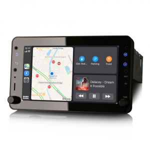 Navigatie auto 2 din, Pachet dedicat ALFA ROMEO Brera Spider 159 Sportwagon, Android 10.0, 7 inch,, DAB+,Quad core, 2GB Ram,16GB memorie interna2