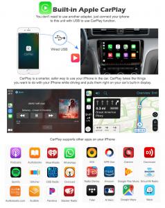 Navigatie auto 2 din, Pachet dedicat ALFA ROMEO Brera Spider 159 Sportwagon, Android 10.0, 7 inch,, DAB+,Quad core, 2GB Ram,16GB memorie interna6