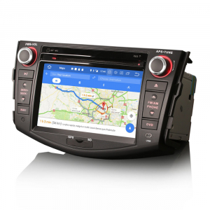 Navigatie auto, Pachet dedicat TOYOTA RAV 4,7 inch, Android 10, GPS, WIFI, DAB+,DVD, 2GB RAM, 16GB memorie interna3
