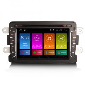 Navigatie auto, Pachet dedicat Renault Dacia Duster Sandero Dokker Lodgy, Android 10, 2GB RAM, 16GB memorie interna, 7 inch0