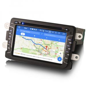 Navigatie auto, Pachet dedicat Renault Dacia Duster Sandero Dokker Lodgy, Android 10, 2GB RAM, 16GB memorie interna, 7 inch4