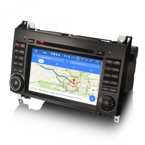 Navigatie auto 2 din, Pachet dedicat MERCEDES Benz A/B Class Vito Viano, Android 9.0 , WIFI+GPS, 7 inch,, DAB+,Quad core CPU, 2GB Ram,16GB memorie interna4