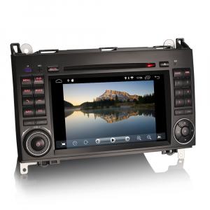 Navigatie auto 2 din, Pachet dedicat MERCEDES Benz A/B Class Vito Viano, Android 9.0 , WIFI+GPS, 7 inch,, DAB+,Quad core CPU, 2GB Ram,16GB memorie interna1