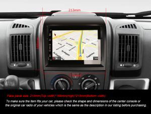 Navigatie auto, Pachet dedicat Fiat Ducato Citroen Jumper Peugeot Boxer ,7 inch, Android 10.0, GPS, WIFI, DAB+, 2GB RAM, 16GB memorie interna [8]