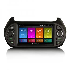 Navigatie auto, Pachet dedicat  Citroen Nemo Peugeot Bipper Fiat Fiorino ,7 inch, Android 9.0, GPS, WIFI, DAB+, 2GB RAM, 16GB memorie interna [0]