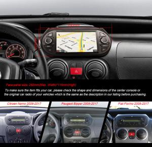 Navigatie auto, Pachet dedicat  Citroen Nemo Peugeot Bipper Fiat Fiorino ,7 inch, Android 9.0, GPS, WIFI, DAB+, 2GB RAM, 16GB memorie interna [6]