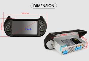 Navigatie auto, Pachet dedicat  Citroen Nemo Peugeot Bipper Fiat Fiorino ,7 inch, Android 9.0, GPS, WIFI, DAB+, 2GB RAM, 16GB memorie interna [9]