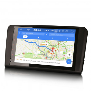 Navigatie auto 2 din, Pachet dedicat Mercedes Benz ML/GL Classe W164 X164, Android 10, 9 inch, 2GB Ram,16GB memorie interna4