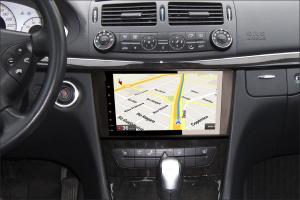 Navigatie auto 2 din, Pachet dedicat Mercedes Benz ML/GL Classe W164 X164, Android 10, 9 inch, 2GB Ram,16GB memorie interna5