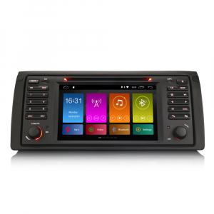 Navigatie auto, Pachet dedicat BMW seria 5 E39 E53 X5 M5, Android 10.0, 2GB RAM, 16GB memorie interna0