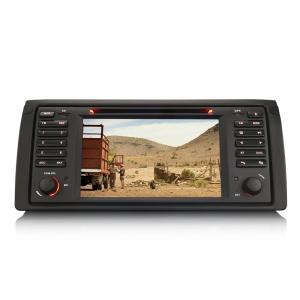 Navigatie auto, Pachet dedicat BMW seria 5 E39 E53 X5 M5, Android 10.0, 2GB RAM, 16GB memorie interna3