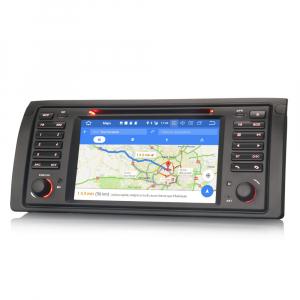 Navigatie auto, Pachet dedicat BMW seria 5 E39 E53 X5 M5, Android 10.0, 2GB RAM, 16GB memorie interna5