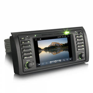 Navigatie auto, Pachet dedicat BMW seria 5 E39 E53 X5 M5, Android 10.0, 2GB RAM, 16GB memorie interna1