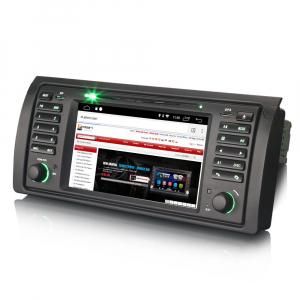 Navigatie auto, Pachet dedicat BMW seria 5 E39 E53 X5 M5, Android 10.0, 2GB RAM, 16GB memorie interna2