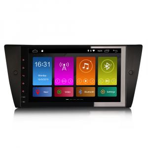 Navigatie auto 2 din, Pachet dedicat BMW 3 Series E90 E91 E92 E93, Android 10.0, 9 inch, DAB+,Quad core CPU, 2GB Ram,16GB memorie interna0