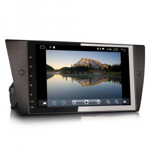 Navigatie auto 2 din, Pachet dedicat BMW 3 Series E90 E91 E92 E93, Android 10.0, 9 inch, DAB+,Quad core CPU, 2GB Ram,16GB memorie interna2