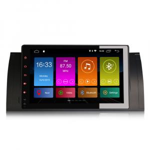 Navigatie auto 2 din, Pachet dedicat BMW M5 5er E39 E53 X5, Android 10 , WIFI+GPS, 9 inch,, DAB+,Quad core CPU, 2GB Ram,16GB memorie interna [0]