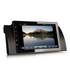 Navigatie auto 2 din, Pachet dedicat BMW M5 5er E39 E53 X5, Android 10 , WIFI+GPS, 9 inch,, DAB+,Quad core CPU, 2GB Ram,16GB memorie interna [2]