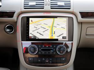 Navigatie auto 2 din, Pachet dedicat Mercedes R Class W251, Android 10 , WIFI+GPS, 9 inch,, DAB+,Quad core CPU, 2GB Ram,16GB memorie interna [5]