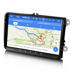 Navigatie auto 2 din, Pachet dedicat VW/SEAT/SKODA, Android 10.0, 9 inch,Quad core CPU [2]