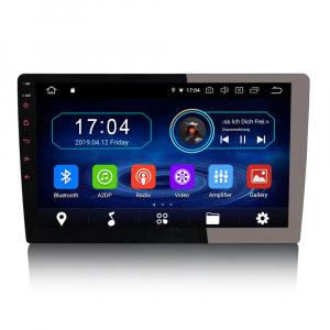 Navigatie auto universala/Multimedia player cu articulatie rotativa reglabila,10.1 inch, Android 9.0, WiFi DAB+ GPS TNT DVR Bluetooth [0]