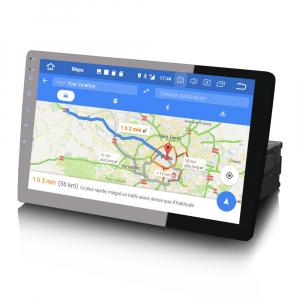 Navigatie auto universala/Multimedia player cu articulatie rotativa reglabila,10.1 inch, Android 9.0, WiFi DAB+ GPS TNT DVR Bluetooth [6]