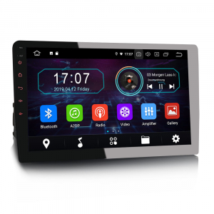 Navigatie auto universala/Multimedia player cu articulatie rotativa reglabila,10.1 inch, Android 9.0, WiFi DAB+ GPS TNT DVR Bluetooth [7]